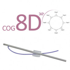 Cog 8D L-type cannula 18G 100mm